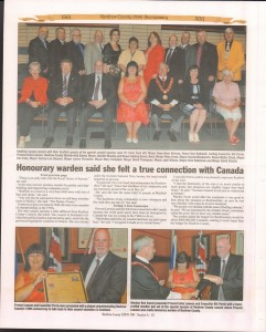A Journey Through Time - Past, Present and Future. Published by The Eganville Leader, celebrating the 150th anniversary of Renfrew County. Page 21