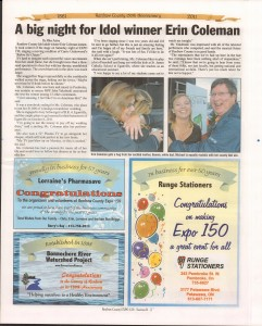 A Journey Through Time - Past, Present and Future. Published by The Eganville Leader, celebrating the 150th anniversary of Renfrew County. Page 25