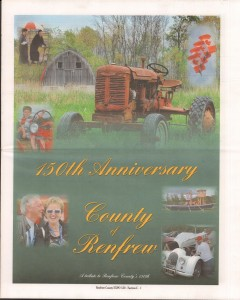 A Journey Through Time - Past, Present and Future. Published by The Eganville Leader, celebrating the 150th anniversary of Renfrew County. Page 42
