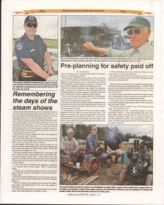 A Journey Through Time - Past, Present and Future. Published by The Eganville Leader, celebrating the 150th anniversary of Renfrew County. Page 52