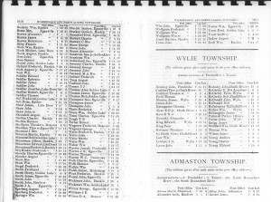 Renfrew County Farmers Directory From 1890. Page 29