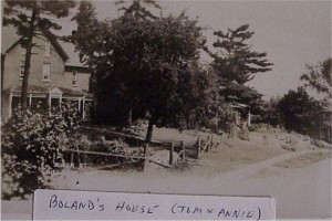 Home of Tom and Annie Boland. Killaloe Millennium Museum Exhibit.