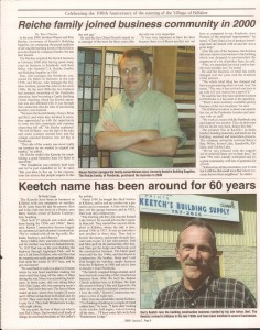 Killaloe Today, published in August of 2008 to commemorate the Town's 100th Birthday. Page 15
