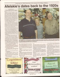 Killaloe Today, published in August of 2008 to commemorate the Town's 100th Birthday. Page 3