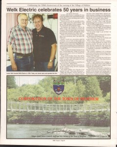 Killaloe Today, published in August of 2008 to commemorate the Town's 100th Birthday. Page 4