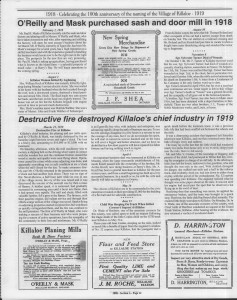 A trip down memory lane, produced by the Eganville Leader to commemorate Killaloe's centennial, in August 2008. Page 23