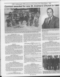 A trip down memory lane, produced by the Eganville Leader to commemorate Killaloe's centennial, in August 2008. Page 55