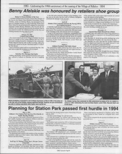 A trip down memory lane, produced by the Eganville Leader to commemorate Killaloe's centennial, in August 2008. Page 61