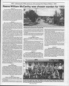 A trip down memory lane, produced by the Eganville Leader to commemorate Killaloe's centennial, in August 2008. Page 46