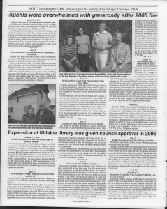 A trip down memory lane, produced by the Eganville Leader to commemorate Killaloe's centennial, in August 2008. Page 48