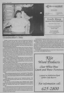 The Laker, Issue 3 from Friday, June 3rd 1988. Page 4