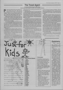 The Laker Issue 33 From, Friday, January 6, 1989.