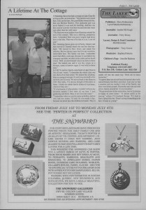 The Laker Issue 7 From Friday, July 1, 1988.