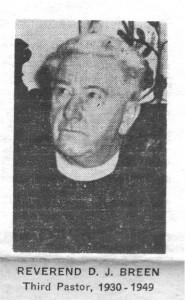 Reverend Breen.