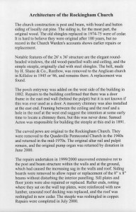 Rockingham Church History 3