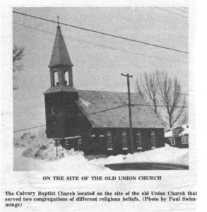 This collection of stories and photos was printed in the 70's in Barry's Bay This Week newspaper. Part 7 of 10. Betty Mullin Collection.