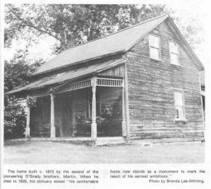 This story and linked photos was written by Brenda Lee-Whiting and published in the Eganville Leader April 2nd, 1975. It is the story of the O'Grady family and Settlement about 9 miles south-west of Killaloe along the Opeongo Line. This is Photo 2, part 18 of 19