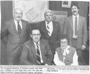 Photo of Killaloe Council early 1990's.