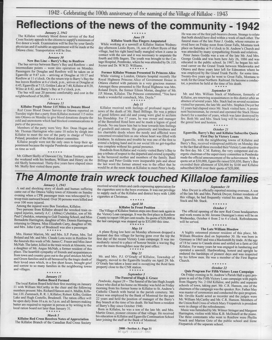 The Archives – Page 4 – Killaloe and District Public Library