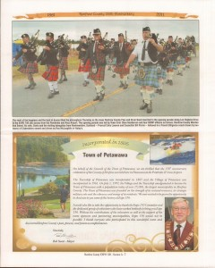 A Journey Through Time - Past, Present and Future. Published by The Eganville Leader, celebrating the 150th anniversary of Renfrew County. Page 12