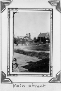 Photo of Killaloe circa 1920's. Name of child unknown. Pearl Murack Collection.