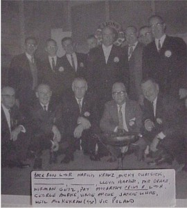 Photo of Killaloe Lions, year unknown. Killaloe Millennium Museum Exhibit.