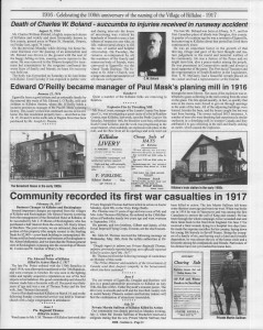 A trip down memory lane, produced by the Eganville Leader to commemorate Killaloe's centennial, in August 2008. Page 22