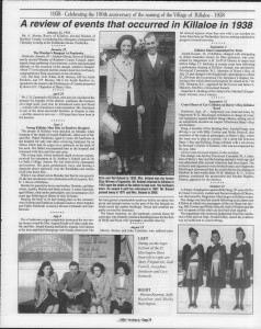 A trip down memory lane, produced by the Eganville Leader to commemorate Killaloe's centennial, in August 2008. Page 25