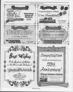 A trip down memory lane, produced by the Eganville Leader to commemorate Killaloe's centennial, in August 2008. Page 9