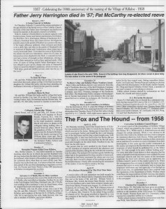 A trip down memory lane, produced by the Eganville Leader to commemorate Killaloe's centennial, in August 2008. Page 51