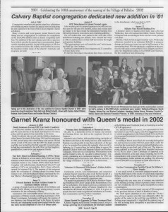A trip down memory lane, produced by the Eganville Leader to commemorate Killaloe's centennial, in August 2008. Page 53