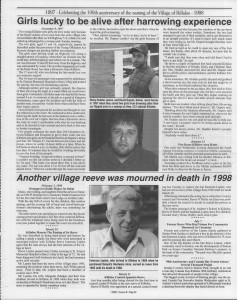A trip down memory lane, produced by the Eganville Leader to commemorate Killaloe's centennial, in August 2008. Page 57