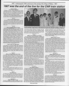 A trip down memory lane, produced by the Eganville Leader to commemorate Killaloe's centennial, in August 2008. Page 66