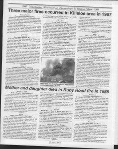 A trip down memory lane, produced by the Eganville Leader to commemorate Killaloe's centennial, in August 2008. Page 68
