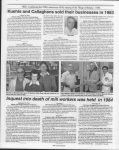 A trip down memory lane, produced by the Eganville Leader to commemorate Killaloe's centennial, in August 2008. Page 72