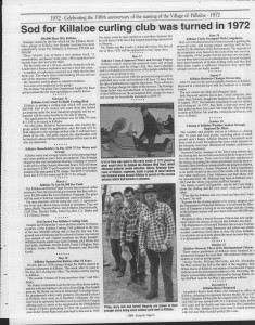 A trip down memory lane, produced by the Eganville Leader to commemorate Killaloe's centennial, in August 2008. Page 75