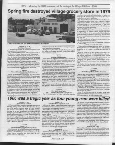 A trip down memory lane, produced by the Eganville Leader to commemorate Killaloe's centennial, in August 2008. Page 76