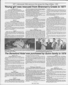 A trip down memory lane, produced by the Eganville Leader to commemorate Killaloe's centennial, in August 2008. Page 77