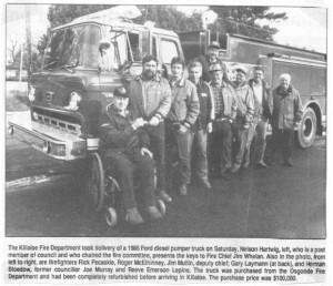 Killaloe Fire Department. bm