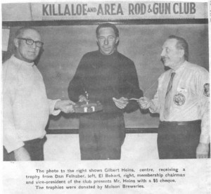 Killaloe and Area Rod and Gun Club. Betty Mullin Collection.