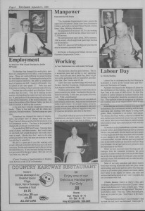 The Laker Issue 16 From, Friday September 2, 1988.