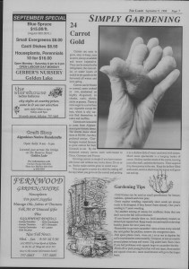 The Laker Issue 17 From, Friday, September 9, 1988.