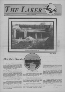 The Laker, Issue 2 from Friday, May 27th 1988. Page 1