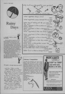 The Laker, Issue 2 from Friday, May 27th 1988. Page 16
