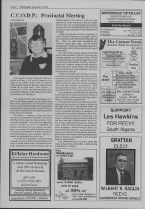 The Laker Issue 25 From, Friday, November 4, 1988.
