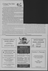 The Laker, Issue 3 from Friday, June 3rd 1988. Page 5