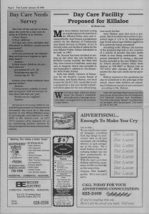Laker Issue 34, 1988-7