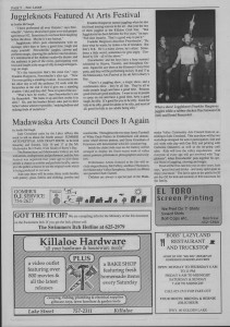 The Laker Issue 8 From Friday, July 8, 1988.