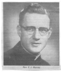 Obituary of Rev. Emmett J. Murray, Parish Preist of St. Andrew's in Killaloe. Betty Mullin Collection.