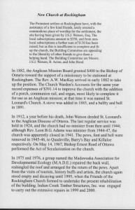 Rockingham Church History 2